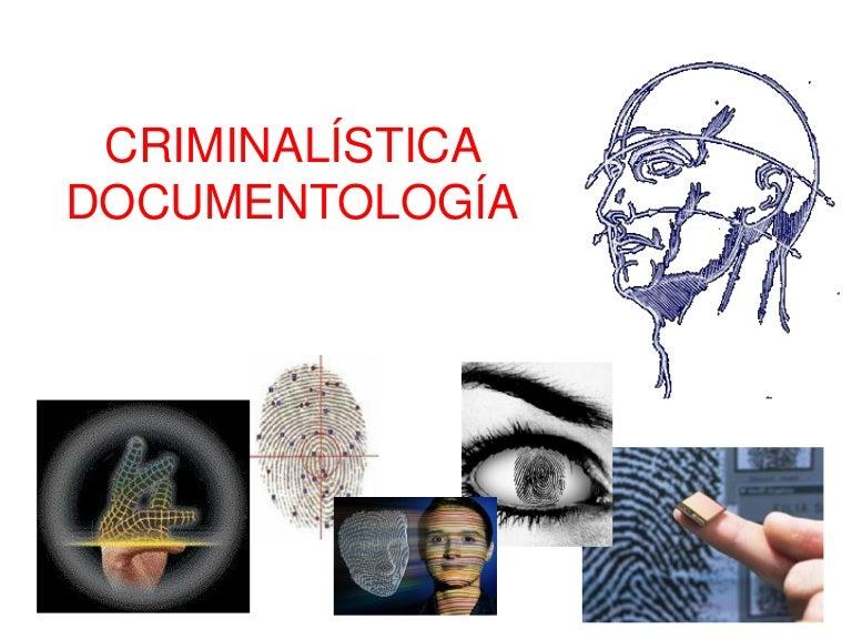 Criminalistica, Documentología Seminario Ciencias Forenses