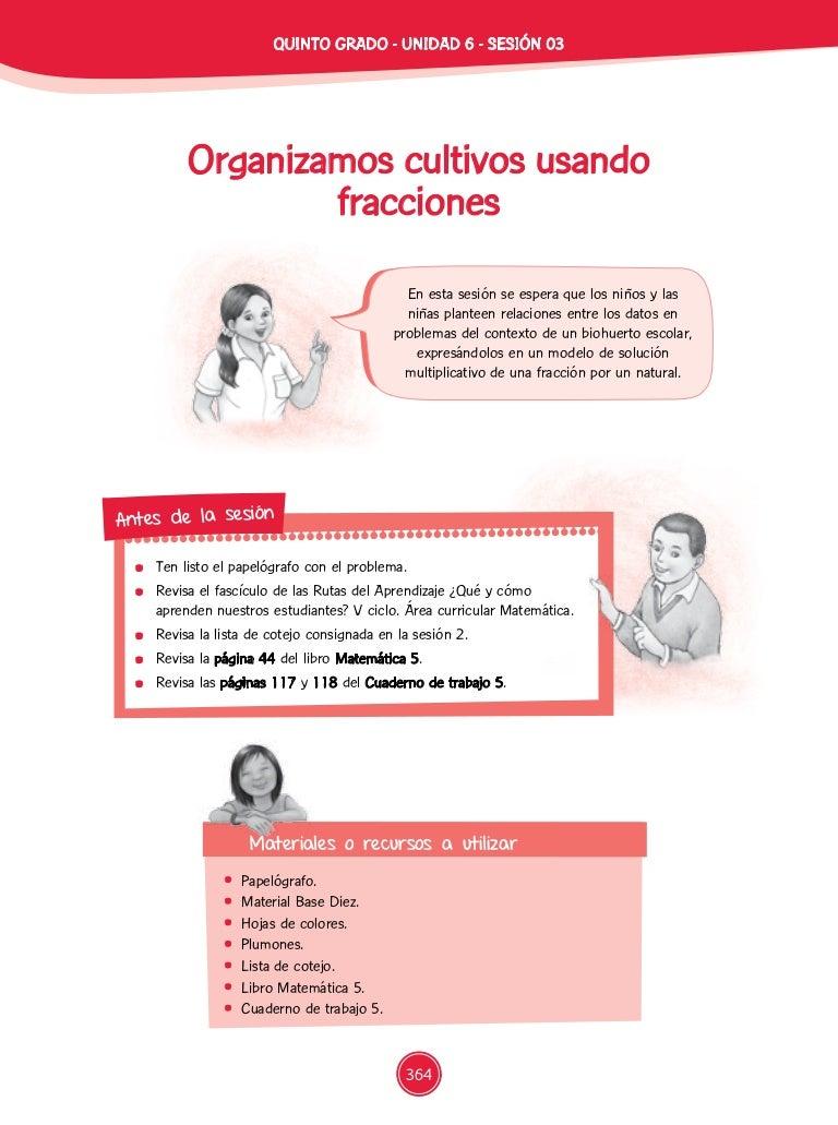 Documentos primaria-sesiones-unidad06-quinto grado-matematica-5g-u6-m…