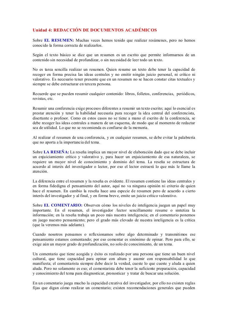 Documentos academicos