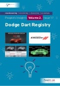 Dodge Dart Registry: People's Insights Volume 2, Issue 17