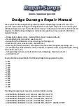 Dodge B250 Repair Manual 1990 1994