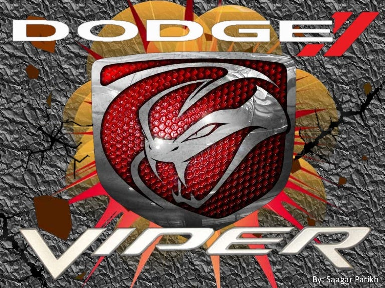 Dodge Viper The Serpent Of The Roads