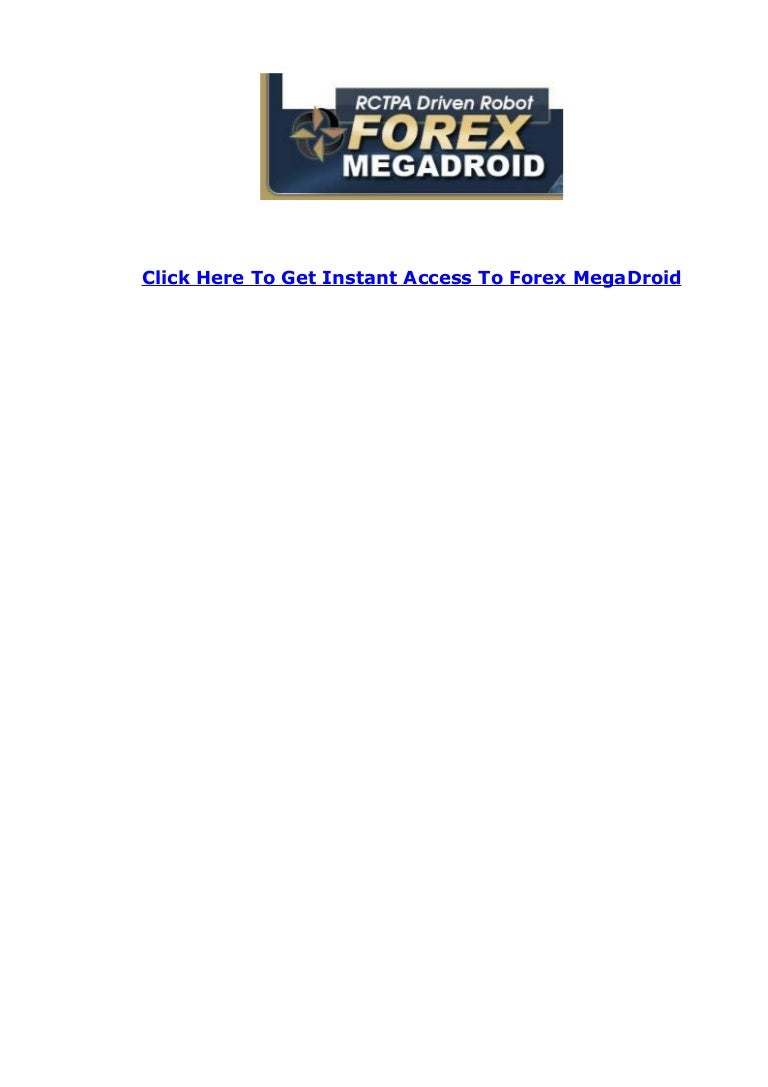 Forex megadroid review
