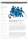 Does your company have in mind people with disabilities as customers? | Albert Vilariño Alonso | Linked in