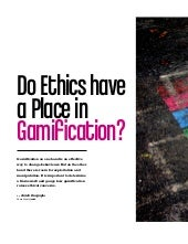 Do Ethics Have a Place in Gamification?