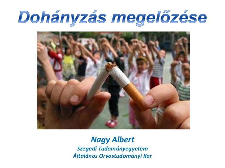 a dohányzás hatásai ppt