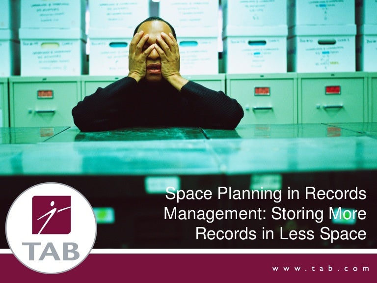 Space Planning App space planning in records management