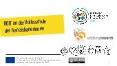 DOIT presentation for 5 to 10 years old (German language)
