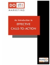 Do It Marketing Effective Calls-to-Action