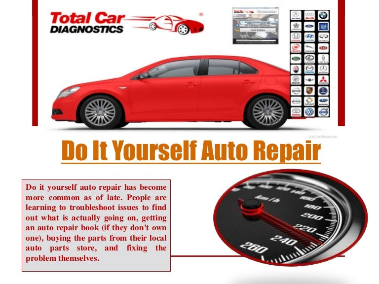 Do it yourself car repair solutioingenieria