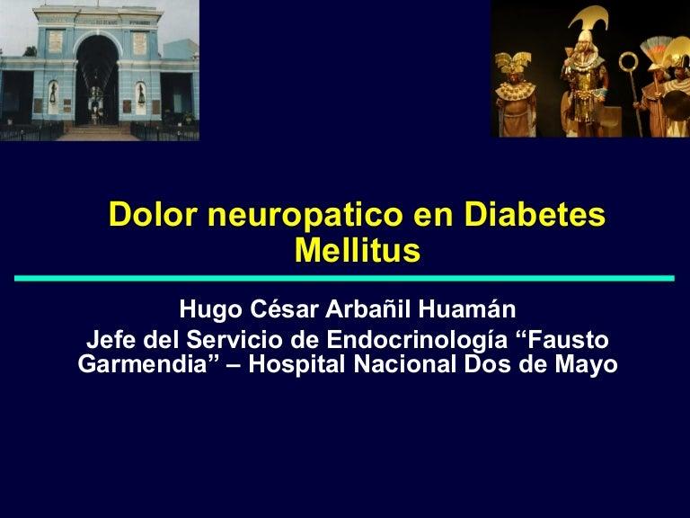 dolor neuropático en diabetes tipo 2