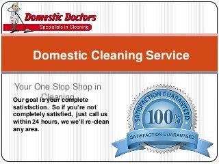 Domestic Cleaning Service Perth