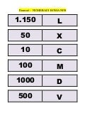 Dominó   numerais romanos