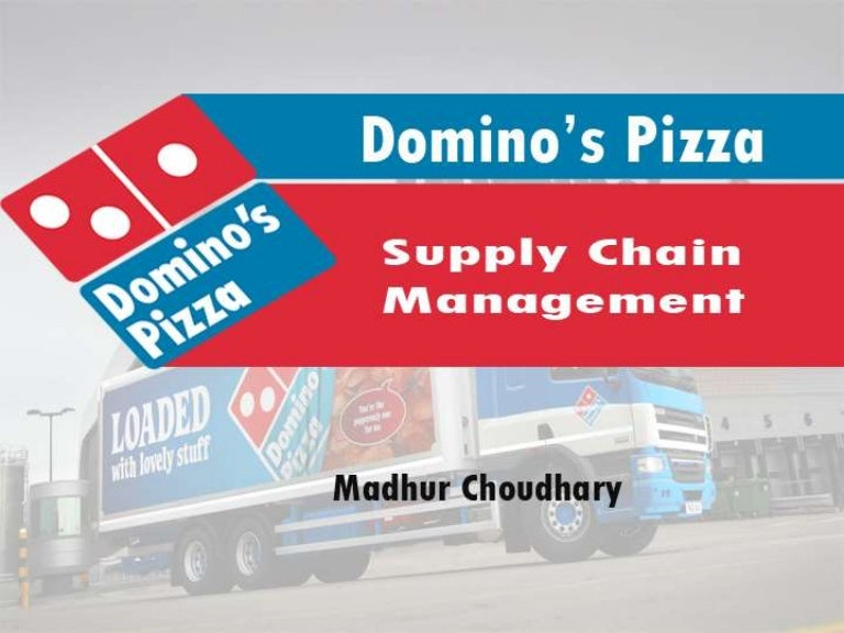 domino s pizza value chain Domino's wants everyone else to be excited too, so domino's is giving away half a million slices of pan pizza on tuesday, oct domino's spent three years perfecting this product and raising the bar for pan pizza, so we felt there was no better time for us to launch our.