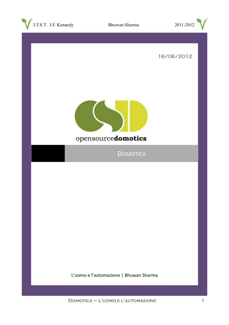 Schema Elettrico Domotica : Domotica con arduino tesina maturità