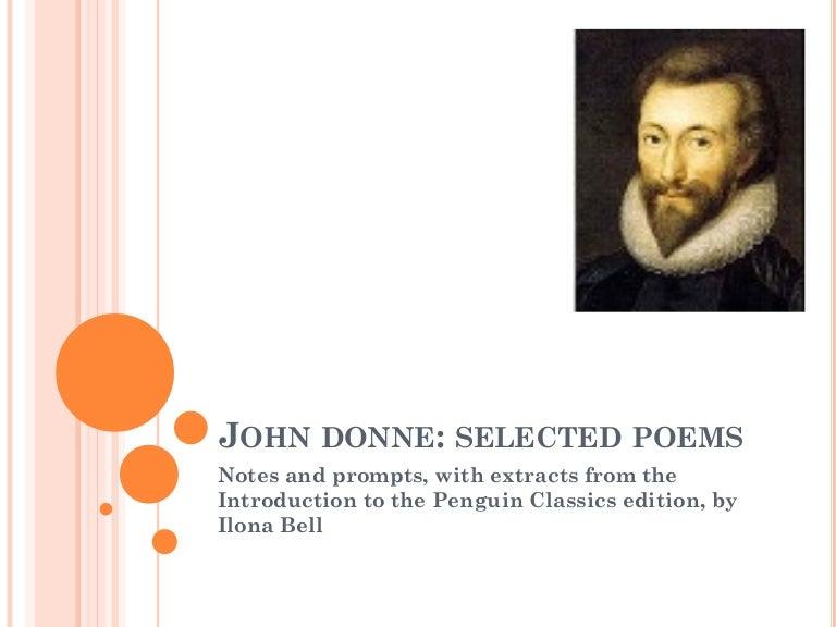 the bait john donne summary