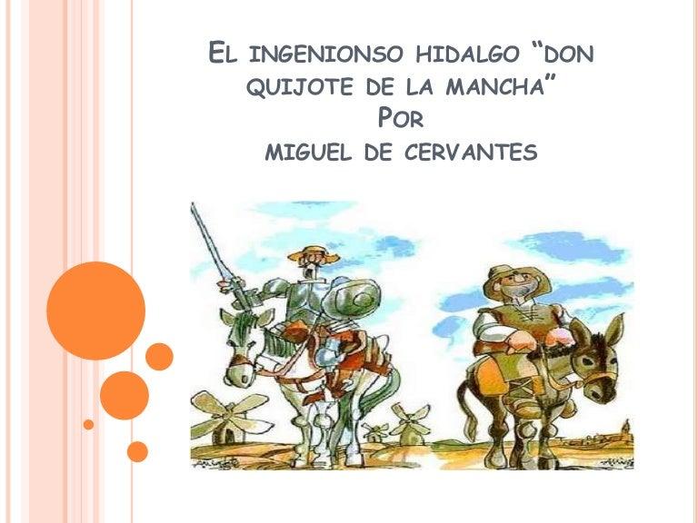 Don quijote de la mancha dia del idioma (para ed. primaria)