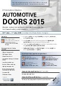 Last chance to book a place at this years Automotive Door 2015 conference - don't miss out!