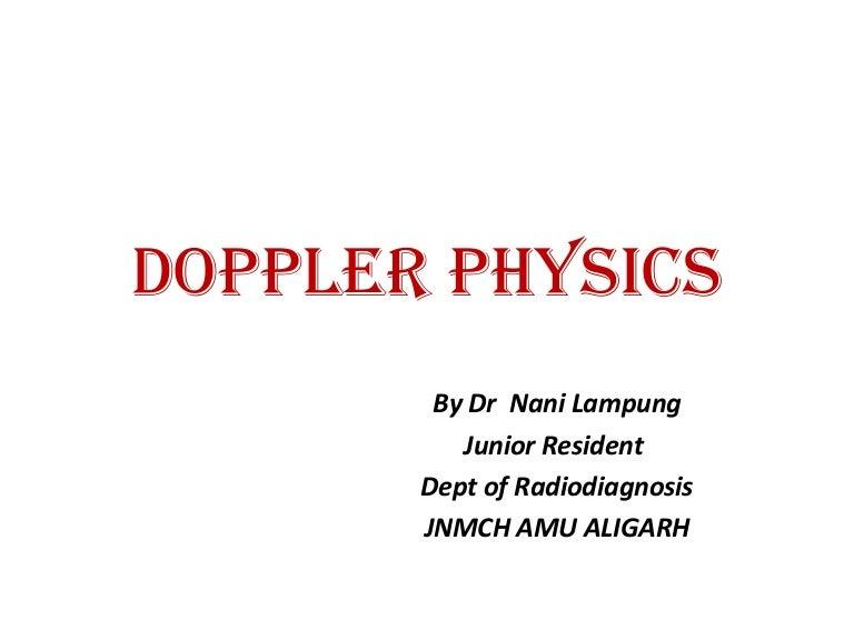 Medical imaging 07 doppler ultrasound youtube.