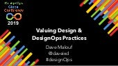 Valuing Design & DesignOps Practice