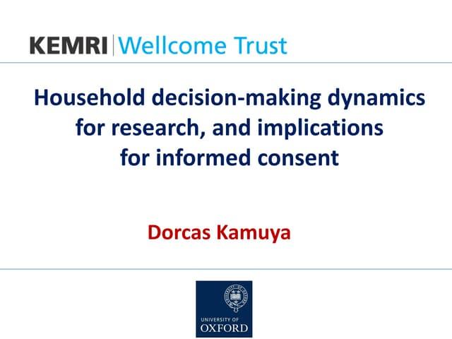 Dorcas Kamuya on research ethics in Kenya