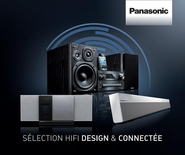 Dossier de presse Panasonic Hifi juillet 2013 par Hopscotch