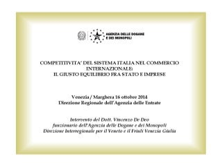 Dott. vincenzo de deo 16.10.2014