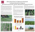 Alternative Manure Application Windows for Better Nutrient Utilization