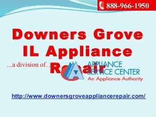 Downers grove il appliance repair