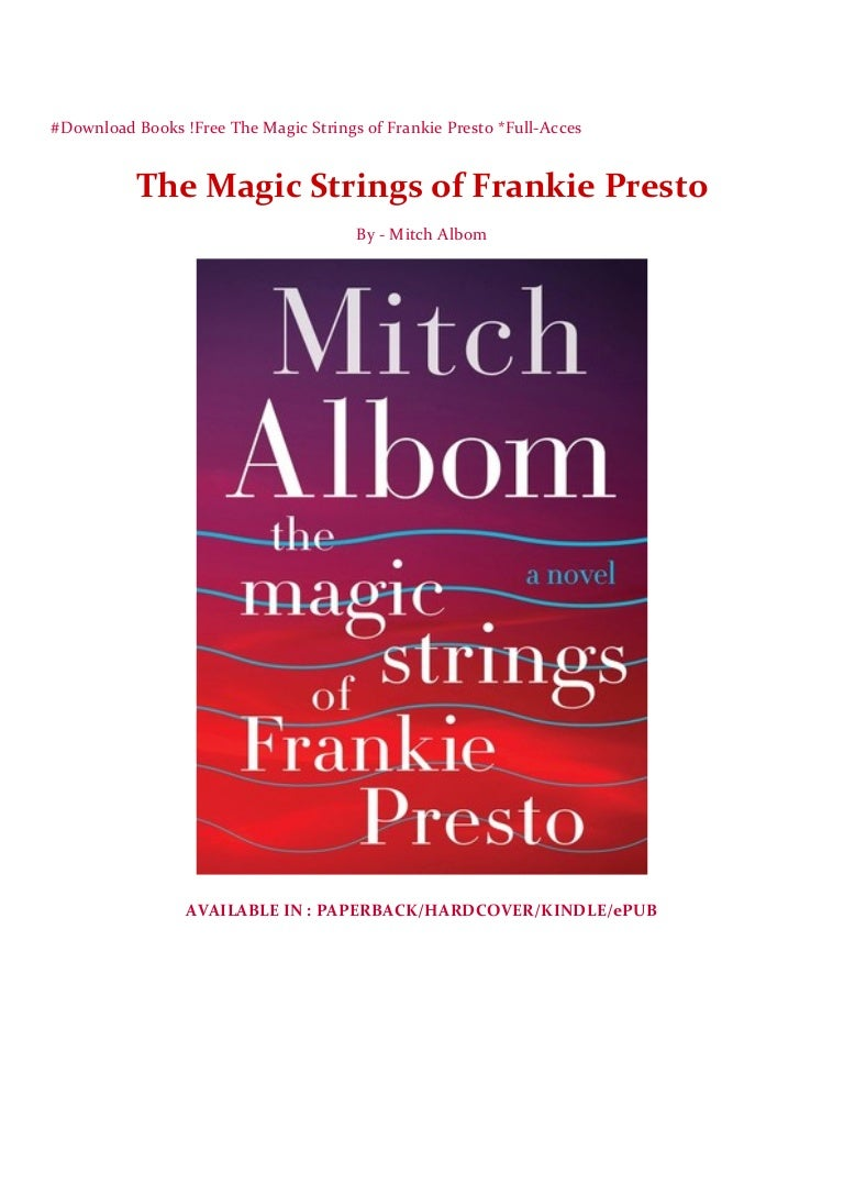 the magic strings of frankie presto epub free download