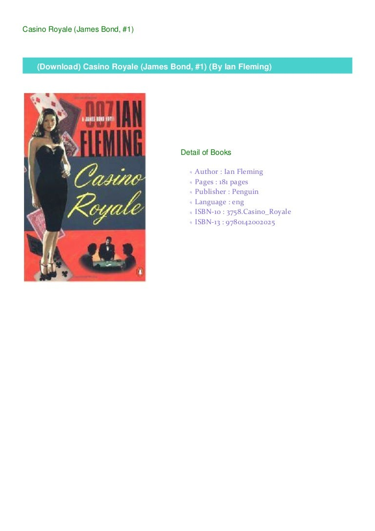 Download Casino Royale James Bond 1 By Ian Fleming
