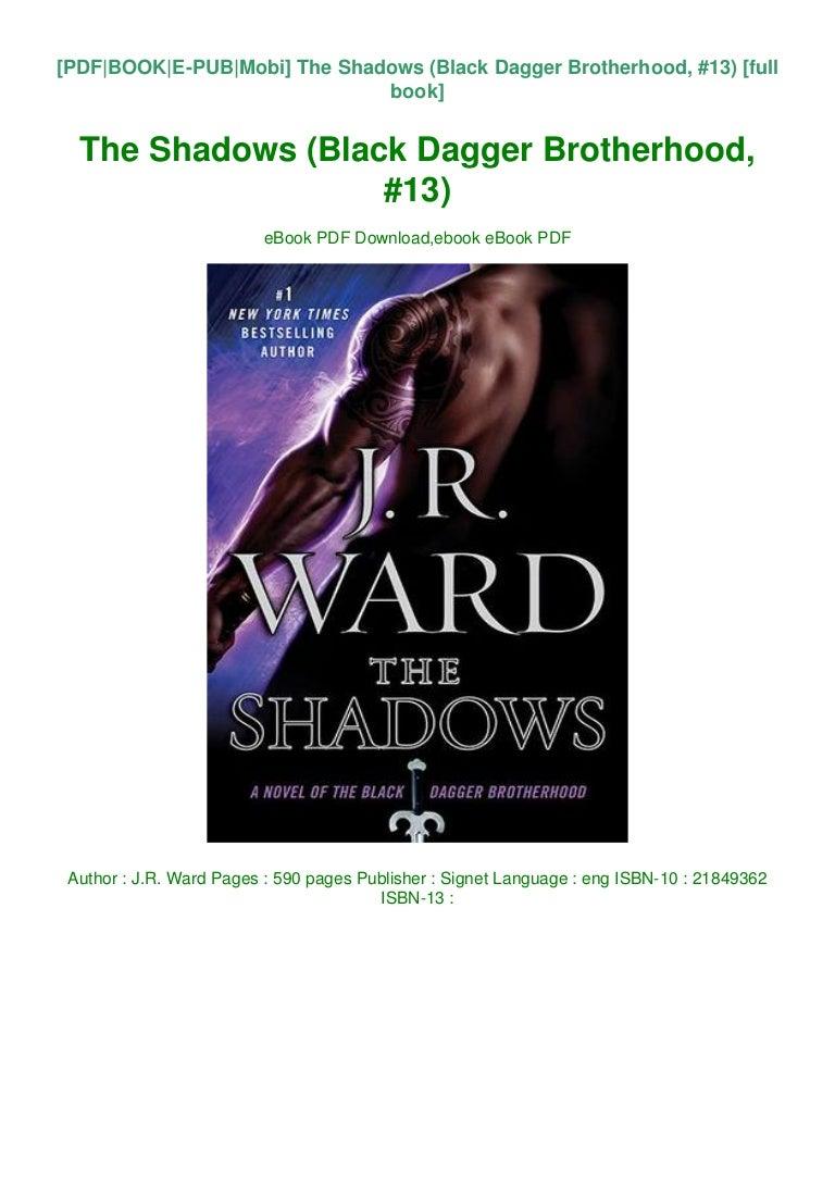 The Shadows Black Dagger Brotherhood 13 By Jr Ward
