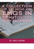 Download Hematology A COLLECTION OF 300 MCQS AND EMQS IN HEMATOLOGY WITH ANSEWERS Multiple Choice Questions for Haematology and Core Medical Trainees Ipad