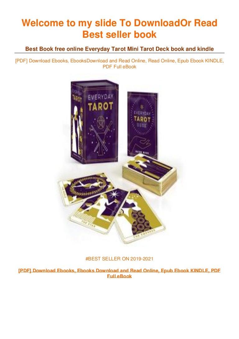 Free [DOWNLOAD IN ^~PDF Everyday Tarot Mini Tarot Deck ^EPub]