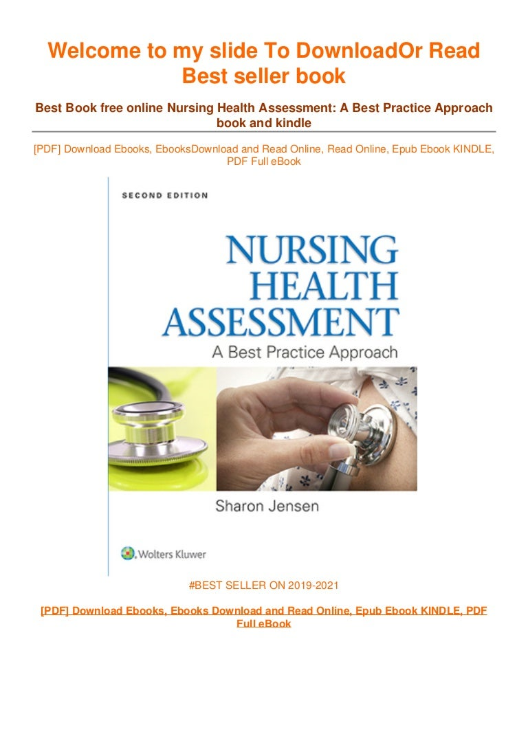 Free [DOWNLOAD IN ~*PDF Nursing Health Assessment: A Best Practice Approach ~^EPub]