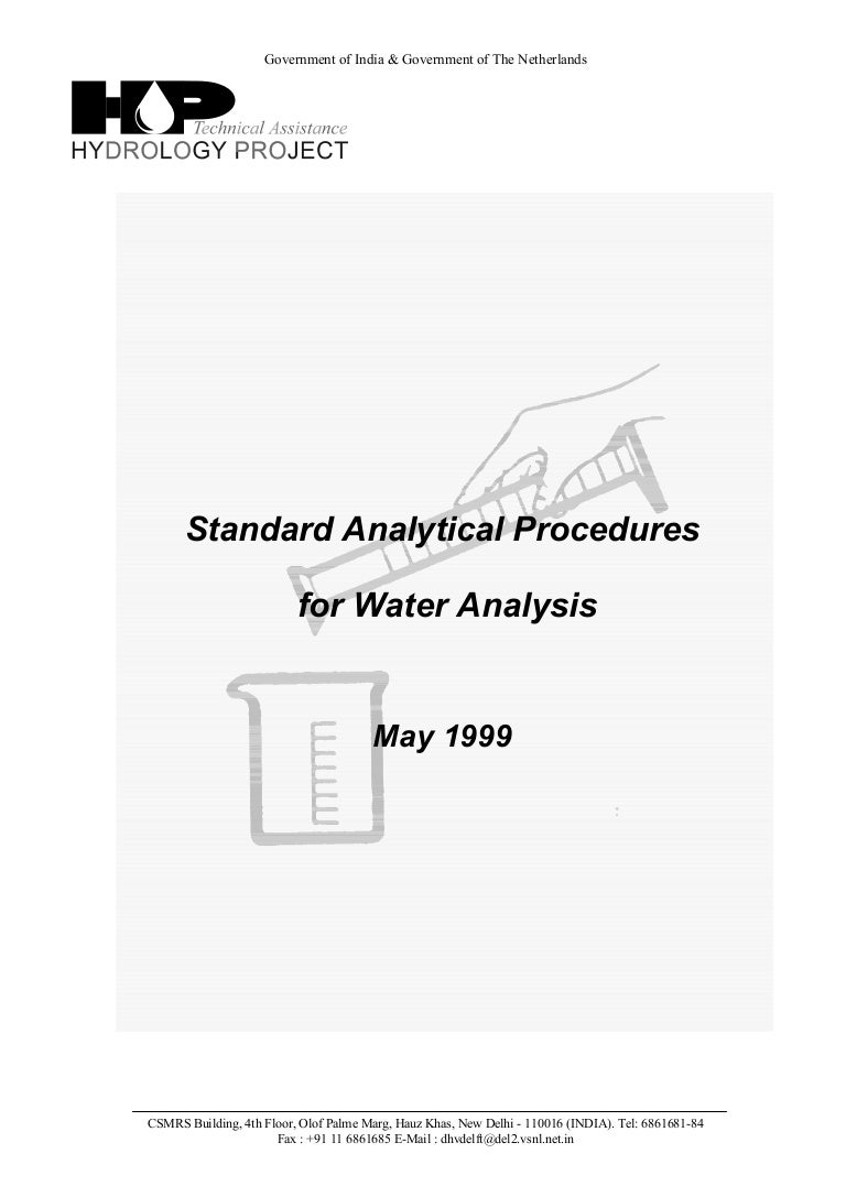 Download-manuals-water quality-technicalpapers