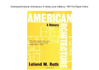 download american architecture a history icon editions pdf full ebook online