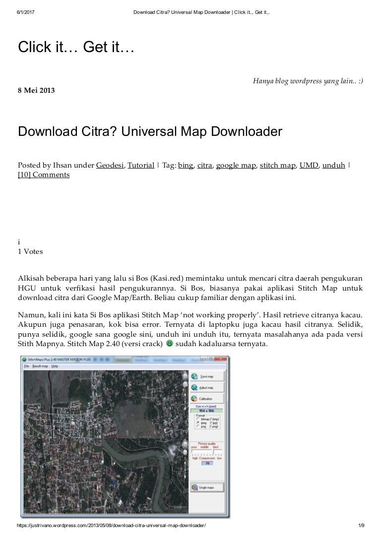 Download citra universal map downloader click it    get it