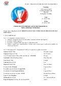 11º Regional UCASF - Regulamento Oficial