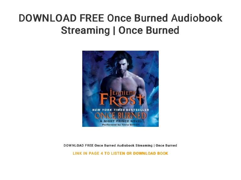 Once burned audiobook free   once burned ( free books ): free audibl….
