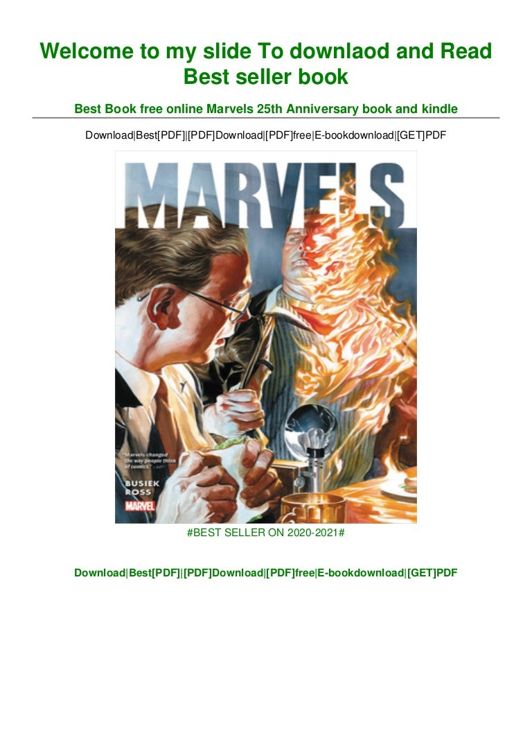 Free [DOWNLOAD IN !#PDF Marvels 25th Anniversary ^BOOK]