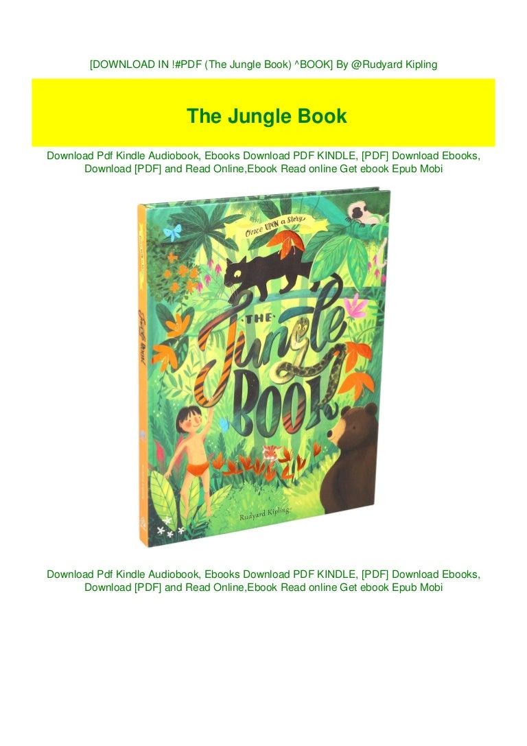 Free [DOWNLOAD IN !#PDF (The Jungle Book) ^BOOK] By @Rudyard Kipling