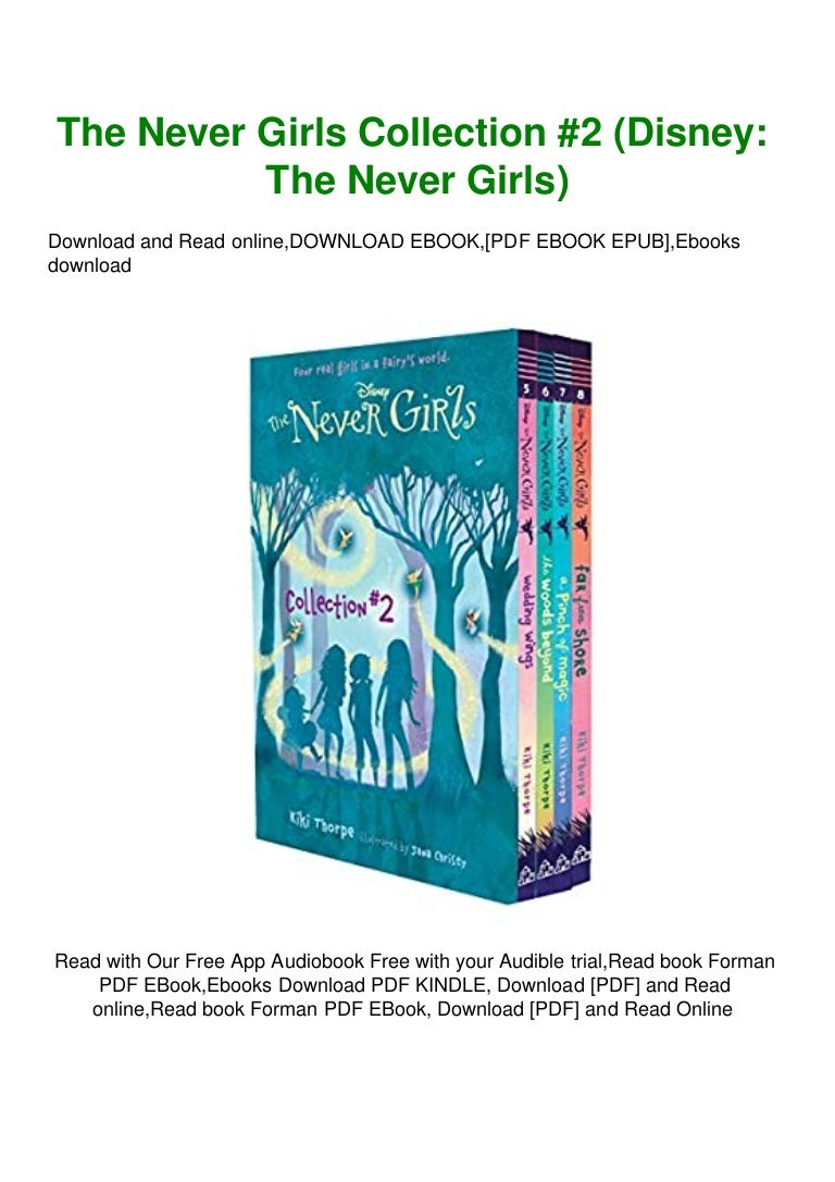 Free Ebook [DOWNLOAD IN @PDF] The Never Girls Collection #2 (Disney The Never Girls) READ PDF EBOOK