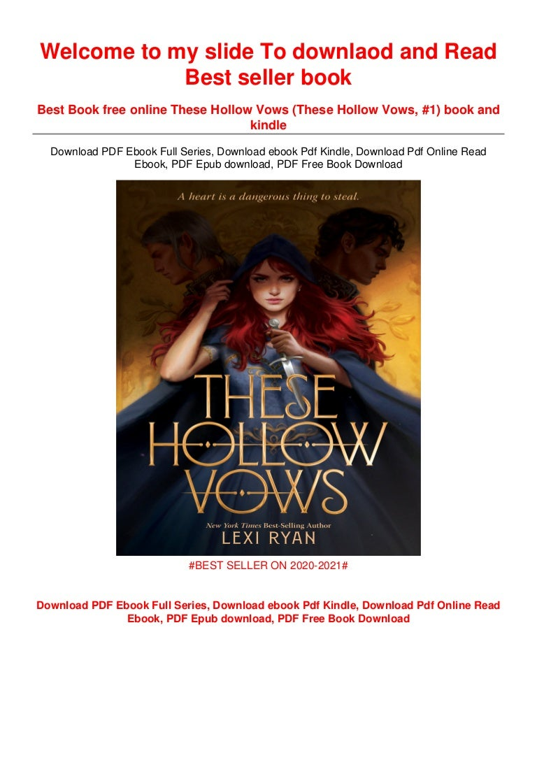 Free [DOWNLOAD IN @^PDF (These Hollow Vows (These Hollow Vows, #1)) @^EPub…