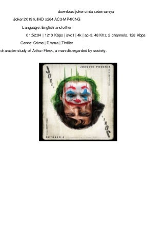 download joker cinta sebenarnya