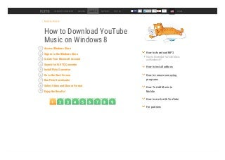 How to Download YouTube Music on Windows 8