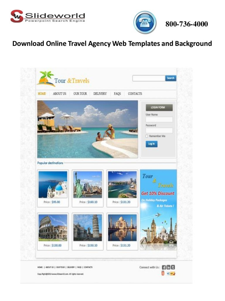 Travel Agency Website >> Download Online Travel Agency Web Templates And