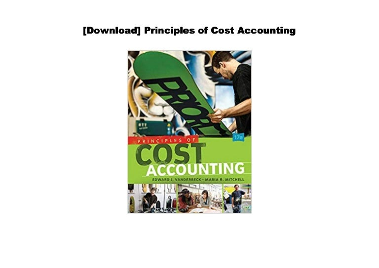 Cost accounting pdf download