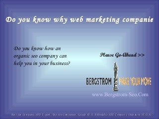 Do you know why web marketing companies are so important for your business