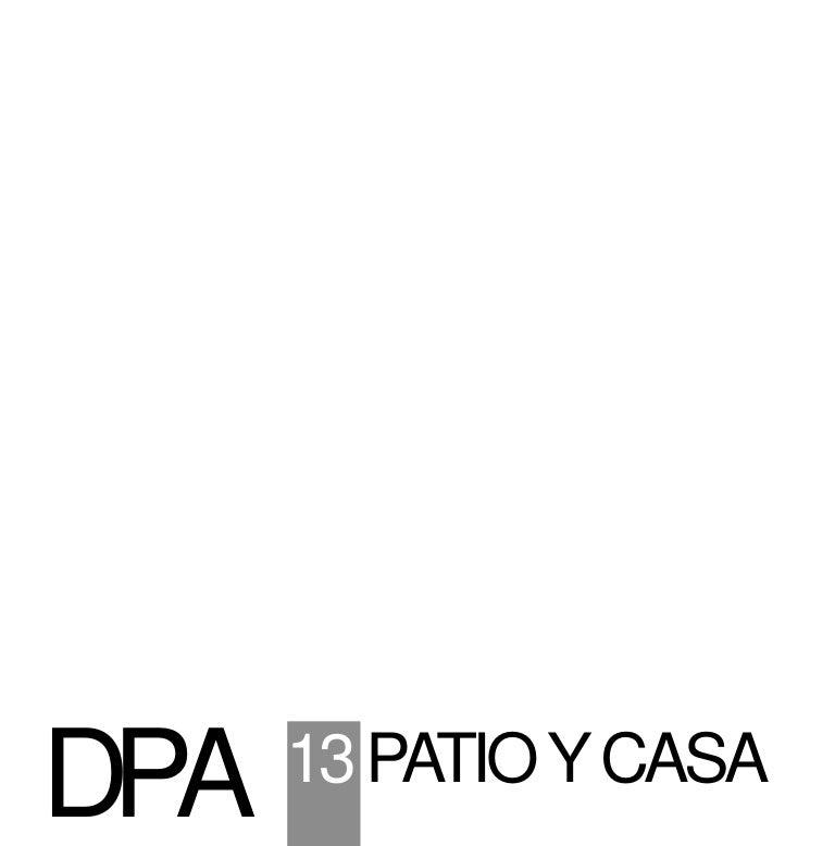 DPA13 CASAS PATIO